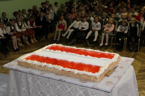 Valsts svētku pasākums Vārkavas vidusskolā